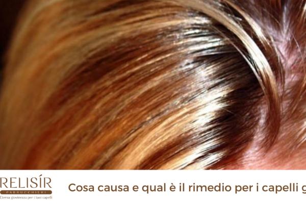 Cosa causa e qual è il rimedio per i capelli grassi?