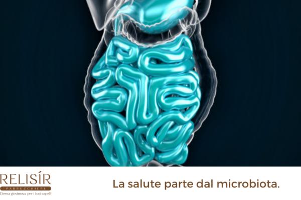 La salute parte dal microbiota.